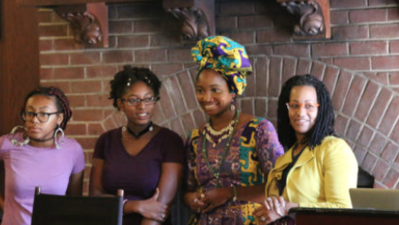 Leaders at Black Girl Power Conference